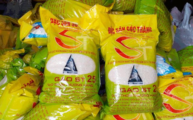 Gạo ST25 đứng vững tại thị trường Mỹ - Ảnh 1.