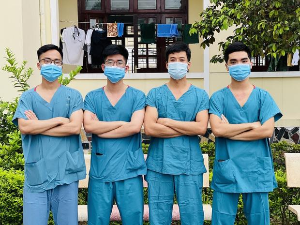 Hàng trăm sinh viên Quân y thần tốc hỗ trợ Bắc Giang chống dịch, làm việc 12-15 tiếng/ngày không nghỉ - Ảnh 2.