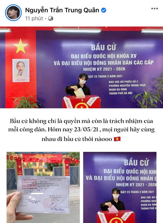 Sao Việt nô nức đi bầu cử: Tiểu Vy, Huyền My dậy sớm cùng dàn hậu bỏ phiếu, Khánh Vân từ Mỹ cũng hào hứng hưởng ứng - Ảnh 16.