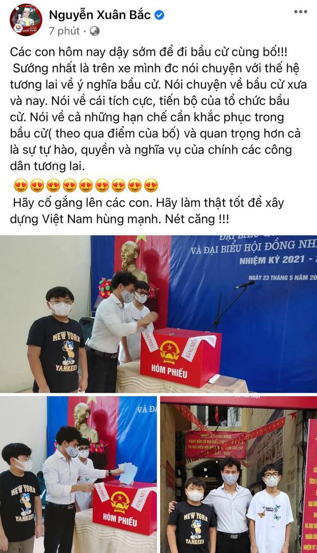 Sao Việt nô nức đi bầu cử: Tiểu Vy, Huyền My dậy sớm cùng dàn hậu bỏ phiếu, Khánh Vân từ Mỹ cũng hào hứng hưởng ứng - Ảnh 3.