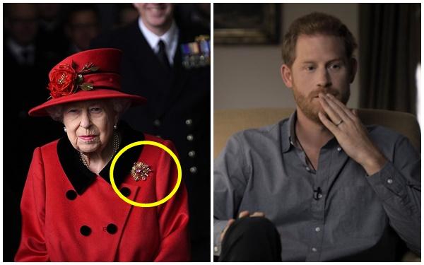 Nữ hoàng Anh xuất hiện công khai sau khi bị Harry chỉ trích cay nghiệt, chi tiết tinh tế trên áo là lời nhắc nhở gửi đến cháu trai hay than vãn - Ảnh 6.