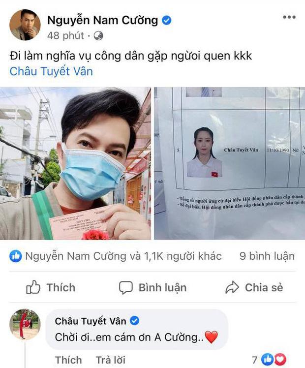 Sao Việt nô nức đi bầu cử: Tiểu Vy, Huyền My dậy sớm cùng dàn hậu bỏ phiếu, Khánh Vân từ Mỹ cũng hào hứng hưởng ứng - Ảnh 10.