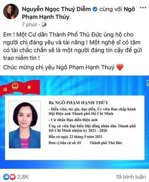 Sao Việt nô nức đi bầu cử: Tiểu Vy, Huyền My dậy sớm cùng dàn hậu bỏ phiếu, Khánh Vân từ Mỹ cũng hào hứng hưởng ứng - Ảnh 11.