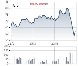Gilimex (GIL): Cổ phiếu phản ứng cực mạnh trước thông tin phát hành giá rẻ chỉ 35.000 đồng/cp, ban lãnh đạo nói gì? - Ảnh 1.