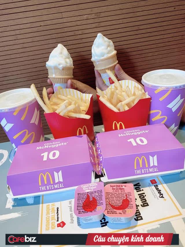 Cộng đồng fan BTS Việt Nam vừa chi 1,2 tỷ đồng mua hết sạch 10.000 suất McDonalds chỉ trong 1 ngày, chỉ trích hãng gà rán in nhầm poster đối thủ của idol - Ảnh 3.