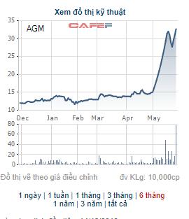 Những cổ phiếu tăng bằng lần trong tháng 5: Quán quân thuộc về cổ phiếu tăng gấp 9 lần trong tháng - Ảnh 3.