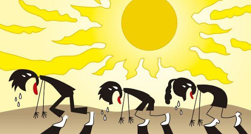 Đây là hiện tượng rất dễ gặp trong tiết trời nắng nóng cực điểm, cần làm ngay điều này để tránh nguy cơ đột quỵ, tử vong - Ảnh 1.