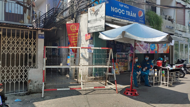 TP.HCM: Khu Mả Lạng, quận 1 lại bị phong tỏa vì phát hiện thêm ca dương tính SARS-CoV-2 - Ảnh 1.