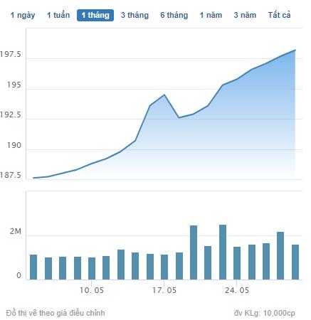 Những cổ phiếu có thị giá đắt đỏ nhất sàn chứng khoán biến động thế nào trong tháng 5? - Ảnh 8.