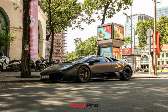 Đổi chủ, Lamborghini Murcielago SV độc nhất Việt Nam tái xuất trên phố Sài Gòn - Ảnh 3.