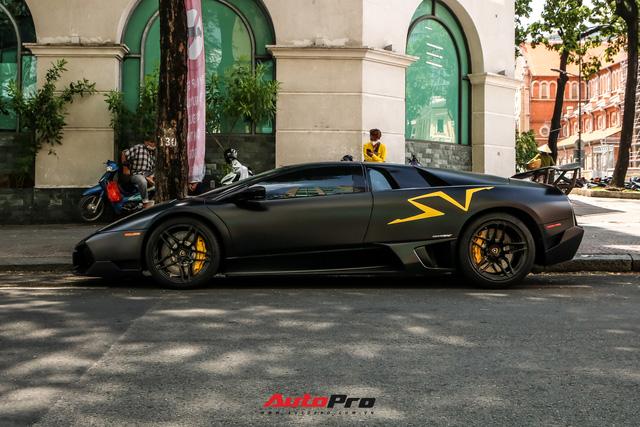 Đổi chủ, Lamborghini Murcielago SV độc nhất Việt Nam tái xuất trên phố Sài Gòn - Ảnh 4.