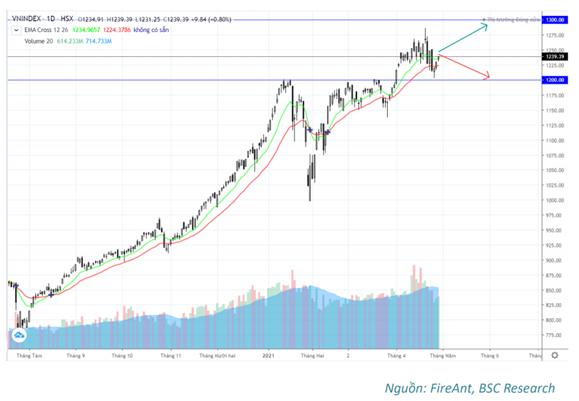 Chứng khoán BSC: Làn sóng Covid thứ 4 không xảy ra, VN-Index tăng hướng về ngưỡng 1.300 điểm - Ảnh 3.
