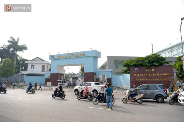 Nóng: Phong toả Bệnh viện K cơ sở Tân Triều, tạm dừng tiếp nhận bệnh nhân - Ảnh 1.