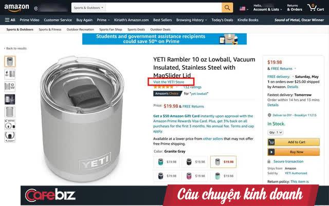 Nghịch lý của việc phát triển thương hiệu trên Amazon: Bán hàng hay thuê khách hàng? - Ảnh 2.