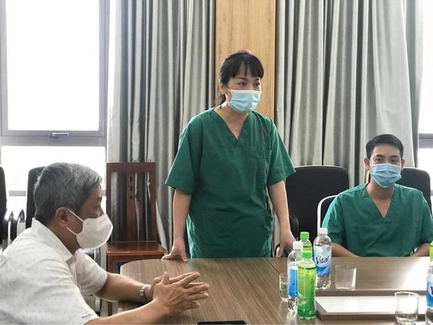 Nữ thủ lĩnh đội quân 200 y bác sĩ chi viện Bắc Giang: Nắng nóng không làm khó được tinh thần chúng tôi - Ảnh 1.
