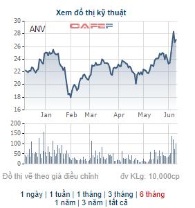 ANV tăng mạnh, lãnh đạo công ty Nam Việt (Navico) đăng ký bán bớt 5 triệu cổ phiếu - Ảnh 1.