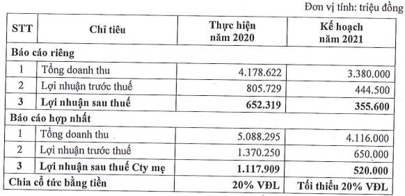 Đầu tư Sài Gòn VRG (SIP) đặt kế hoạch lợi nhuận năm 2021 giảm 53% so với thực hiện năm trước - Ảnh 2.