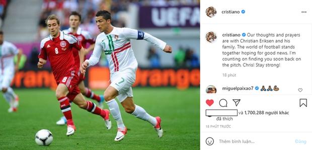 Khoảnh khắc cầu thủ Đan Mạch bất ngờ gục ngã ngay giữa trận đấu khiến cả thế giới bàng hoàng, bật khóc: Ronaldo gửi lời chúc bình an, bác sĩ lý giải nguyên nhân - Ảnh 6.
