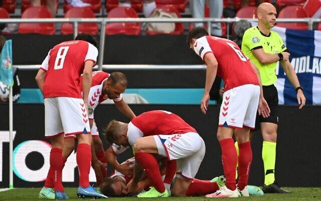Công nương Đan Mạch bật khóc trên khán đài khi chứng kiến Eriksen bất tỉnh trên sân và có lời chia sẻ xúc động lan tỏa khắp MXH - Ảnh 1.