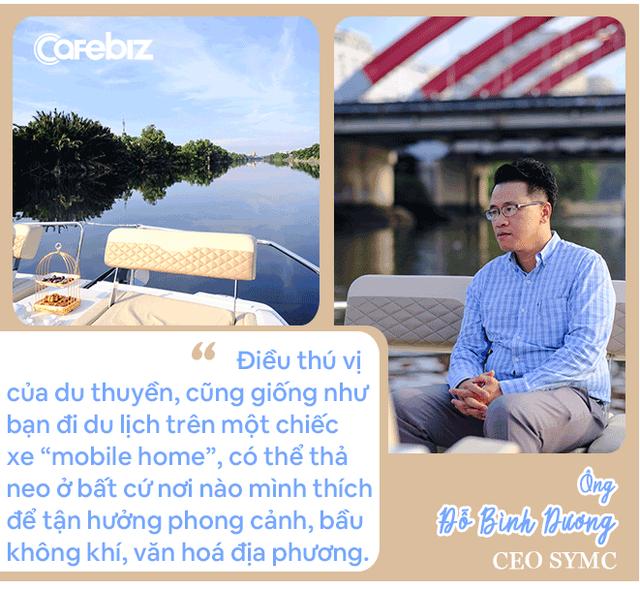 Ông trùm du thuyền Việt tiết lộ thú chơi của giới nhà giàu, khẳng định thu nhập trung bình khá vẫn có thể tận hưởng dịch vụ siêu sang - Ảnh 3.