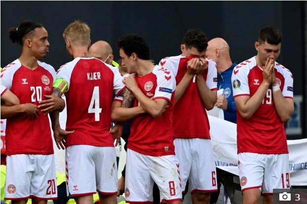 Tình tiết mới gây bức xúc trong vụ Eriksen gục ngã trên sân: Đan Mạch bị UEFA dọa xử thua 0-3 nếu không kết thúc trận đấu dang dở - Ảnh 1.