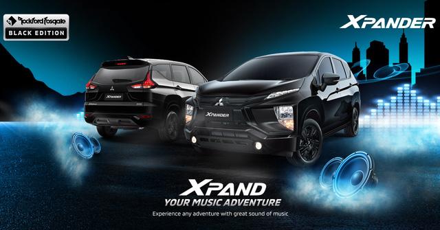 Mitsubishi Xpander thêm phiên bản đặc biệt: Thể thao hơn, nâng cấp dàn loa mới, tăng sức cạnh tranh trước Suzuki Ertiga, XL7 - Ảnh 1.