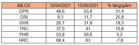 Cổ phiếu cao su thiên nhiên 'âm thầm' tăng giá - Ảnh 4.