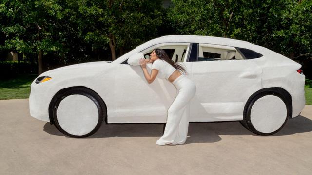 Nữ tỷ phú lắm chiêu bọc lông cho siêu xe Lamborghini: Người bình thường tròn mắt thán phục, các chuyên gia và dân mê xe lại lắc đầu ngán ngẩm! - Ảnh 1.