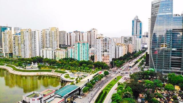 Giá chung cư Hà Nội tiếp tục tăng - Ảnh 1.
