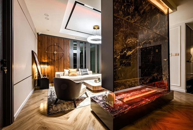 Căn hộ đập thông 140m2 thiết kế nội thất hiện đại, ấm cúng và hợp phong thủy: KTS khuyên cần chú ý điều này khi tân trang lại nội thất, nhà cửa - Ảnh 3.