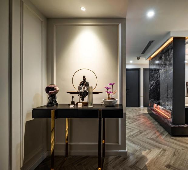 Căn hộ đập thông 140m2 thiết kế nội thất hiện đại, ấm cúng và hợp phong thủy: KTS khuyên cần chú ý điều này khi tân trang lại nội thất, nhà cửa - Ảnh 4.