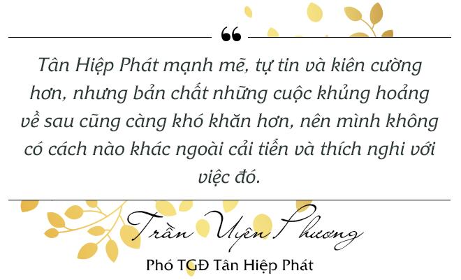 Trần Uyên Phương nói gì về việc thích nghi với khủng hoảng của Tân Hiệp Phát? - Ảnh 8.