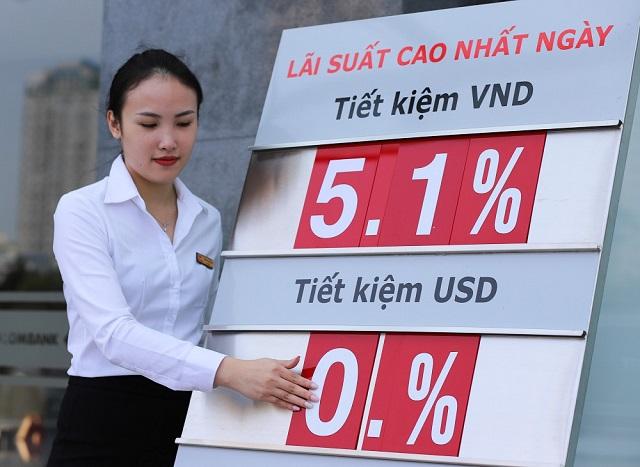 Lãi suất tiết kiệm ngân hàng nào cao nhất - Ảnh 1.