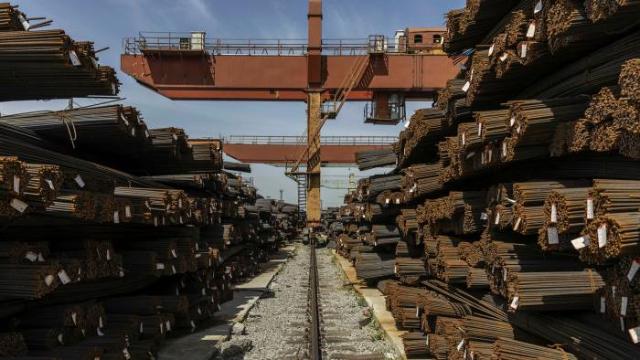 Giá thép giảm sau khi Trung Quốc tuyên bố điều tra đầu cơ quặng sắt - Ảnh 1.