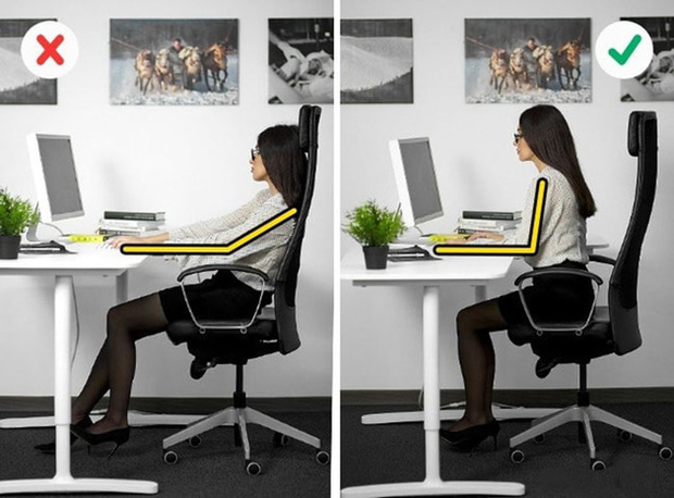 Cách chữa đau lưng do ngồi máy tính nhiều, đơn giản dễ thực hiện tại nhà - Ảnh 2.