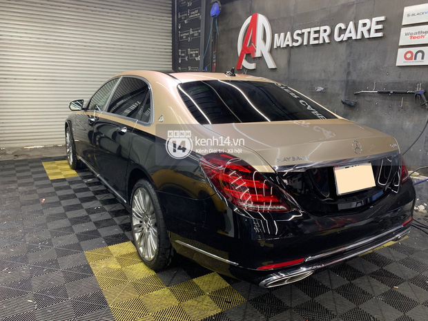 Hai siêu xe hồng đen thị phi của showbiz Việt: Rolls-Royce vẫn im lìm, Maybach quyết đổi màu cho phong thủy hơn - Ảnh 3.