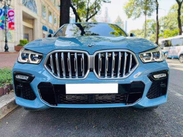 Đại gia bán BMW X6 màu lạ giá 5,1 tỷ, CĐM bất ngờ khi giá bán không khác xe mua mới dù đã chạy 7.000km - Ảnh 1.