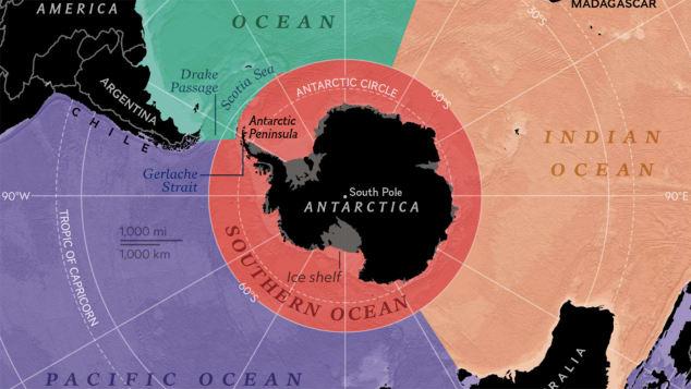 National Geographic đưa đại dương thứ 5 của trái đất lên bản đồ - Ảnh 1.