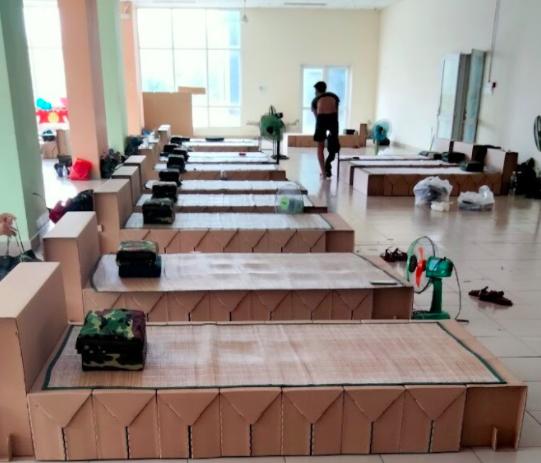 Sáng kiến độc đáo giữa tâm dịch COVID-19: SCGP và Bao bì Biên Hoà hỗ trợ 1.000 chiếc giường giấy cho Mặt trận Tổ quốc Tp.HCM - Ảnh 2.