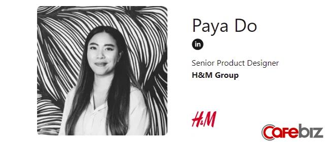 Paya Đỗ: Cô gái trẻ gốc Việt nổi danh làng công nghệ Nhật Bản, hiện là trưởng nhóm thiết kế H&M Thuỵ Điển - Ảnh 1.
