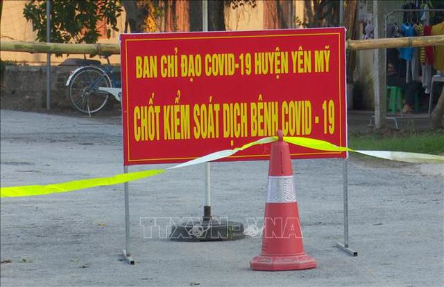 12 ca dương tính chỉ sau một đêm, dịch lan sang huyện mới ở Hưng Yên - Ảnh 1.