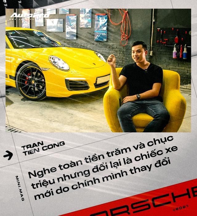 8X Hà Nội tự tay nâng cấp Porsche 911: Bỏ gần 5 tỷ lấy xác xe, chi 2,5 tỷ lên đời xe mới, tốn học phí' cả trăm triệu đồng - Ảnh 10.