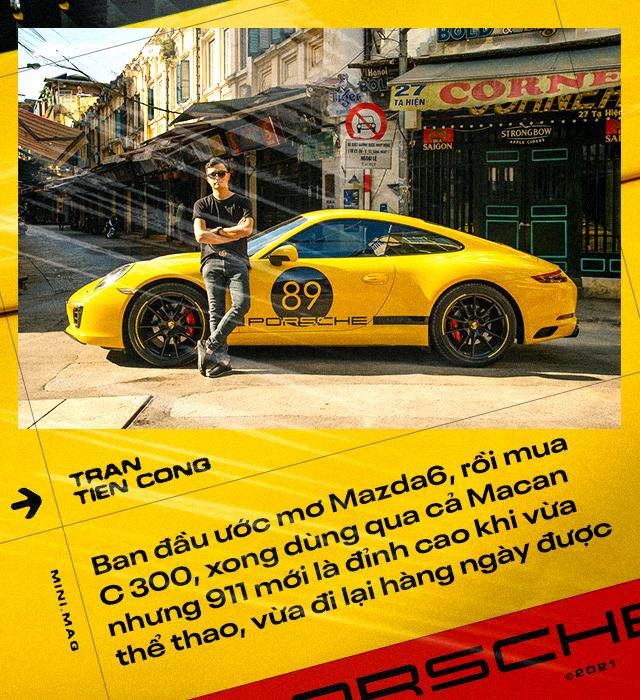 8X Hà Nội tự tay nâng cấp Porsche 911: Bỏ gần 5 tỷ lấy xác xe, chi 2,5 tỷ lên đời xe mới, tốn học phí' cả trăm triệu đồng - Ảnh 3.