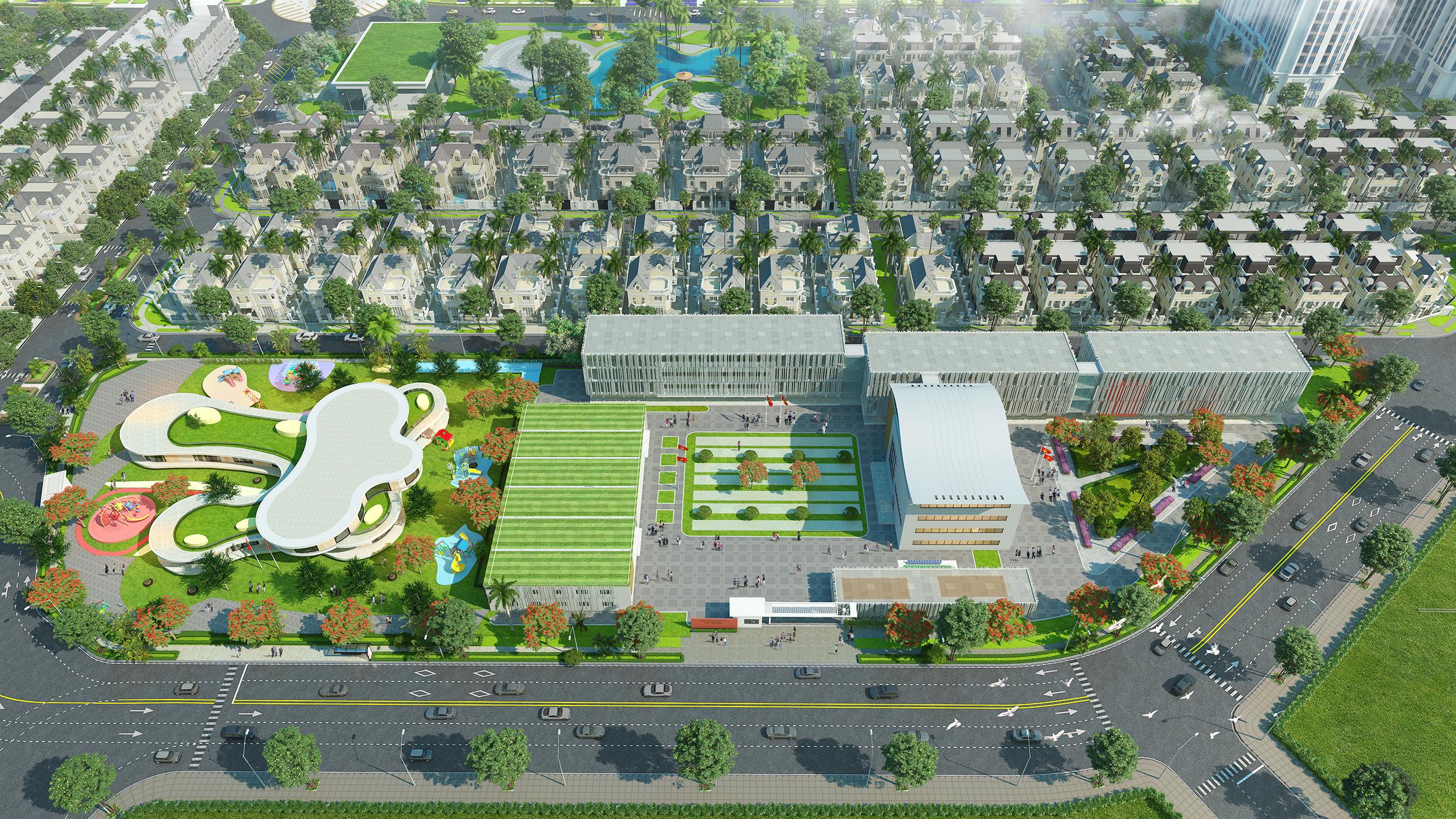 """Kiến tạo mô hình đô thị """"bán khép kín"""" đầu tiên tại phía Tây Hà Nội, Anlac Group tiếp tục khẳng định vị thế trên thị trường bất động sản - Ảnh 8."""
