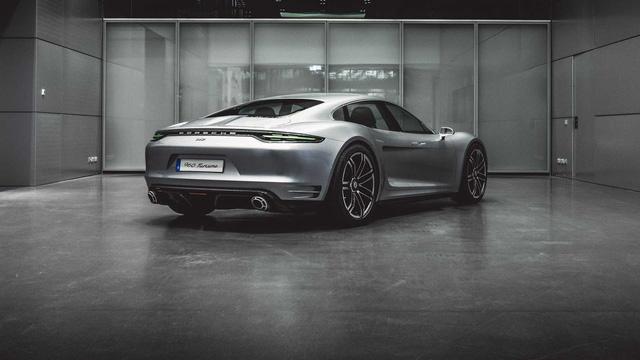 Bằng chứng này cho thấy Porsche Taycan có thể có đàn em giá rẻ, cạnh tranh BMW i4 - Ảnh 2.