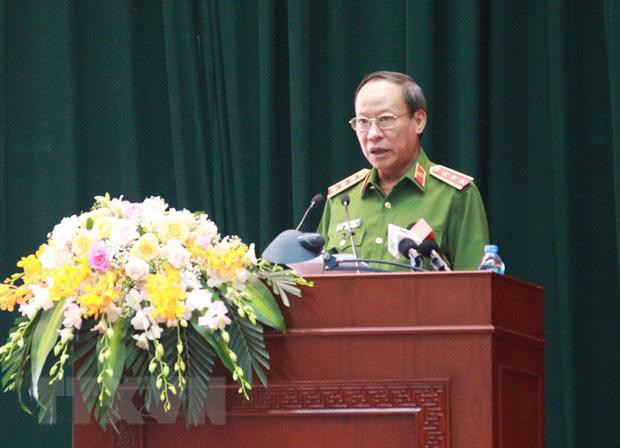 Chân dung ba Thượng tướng vừa thôi giữ chức Thứ trưởng Bộ Công an  - Ảnh 1.