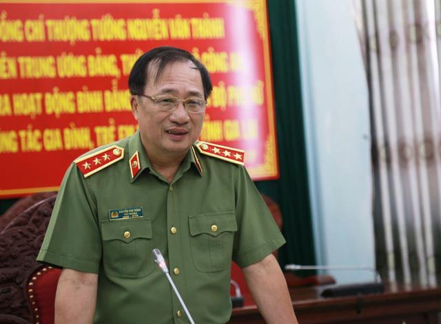 Chân dung ba Thượng tướng vừa thôi giữ chức Thứ trưởng Bộ Công an  - Ảnh 2.