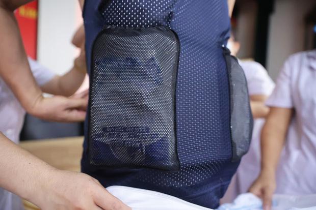 Phát minh vừa rẻ vừa tiện giúp các y bác sĩ ở Bắc Giang chống cái nóng cháy da thịt - Ảnh 4.
