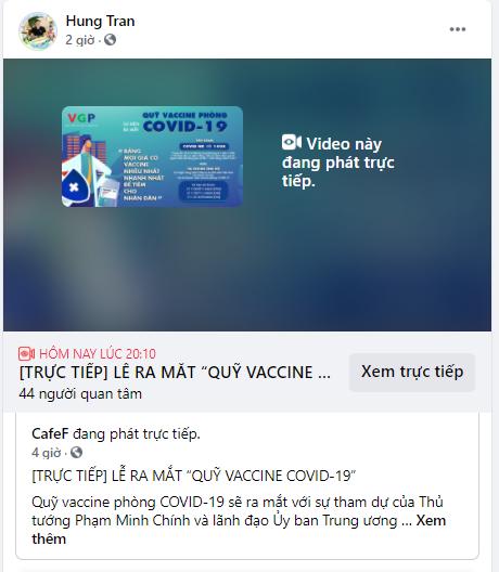 Các doanh nhân đồng loạt chia sẻ về sự kiện ra mắt Quỹ Vaccine COVID-19: Cả nước chung tay, nhất định thắng dịch! - Ảnh 5.