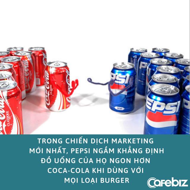 Marketing xoắn não như Pepsi: Chỉ ra logo của mình trên giấy gói của những chuỗi đồ ăn nói không với Pepsi - Ảnh 2.